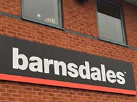 Barnsdales Sign Black