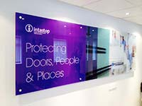 Intastop Bespoke Sign Purple