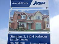 Jones Homes Commercial Sign