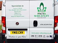 Pacy And Wheatley Vehicle Graphic