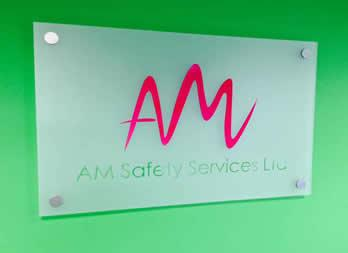 Bespoke Sign, Doncaster, AM Safety Service Thumb