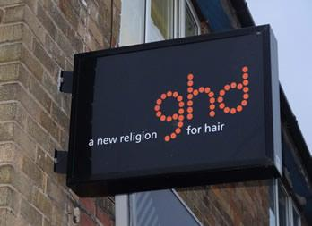 Illuminated Sign, Doncaster, Hairlines Thumb