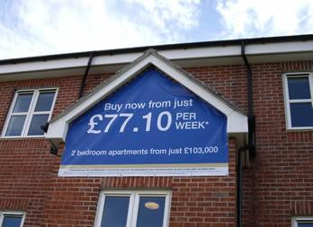Discount PVC Banner, Leeds, Miller Homes Thumb