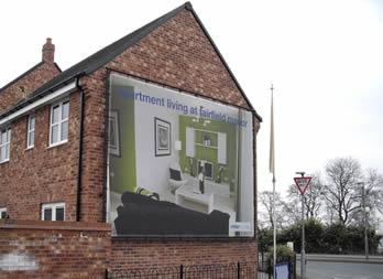 Discount Mesh Banner, Wakefield, Miller Homes Thumb