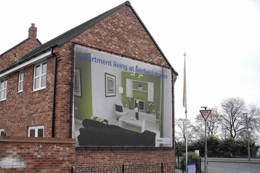 Discount Mesh Banner, Wakefield, Miller Homes