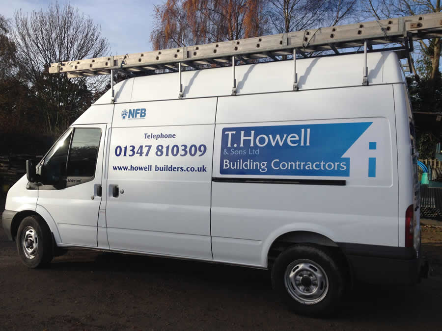 Vehicle Graphic, York, T Howell & Sons Ltd