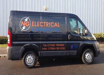 Vehicle Graphic, Doncaster, NG Electrical Thumb
