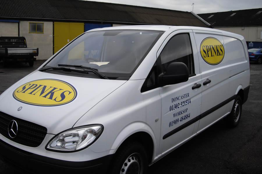 Vehicle Graphic, Doncaster, Spinks