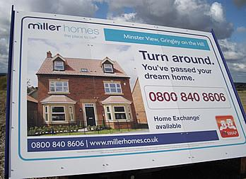 Vehicle Graphic, Nottinghamshire, Miller Homes Thumb