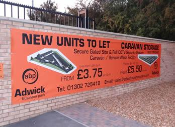 Discount PVC Banner, Doncaster, Adwick Business Park Thumb