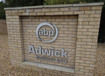 Cut Out Letters, Adwick, Doncaster, Yukon Estates LLP Thumb
