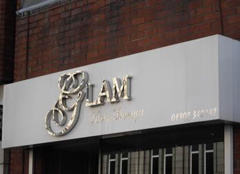 3D Cut out letters, Doncaster, Glam Thumb
