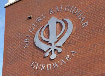 3D Cut out letters, Doncaster, Gudwara Thumb