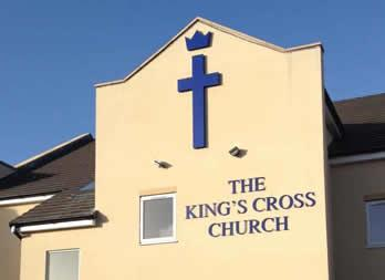 3D Cut out letters, Doncaster, Kings Cross Church Thumb