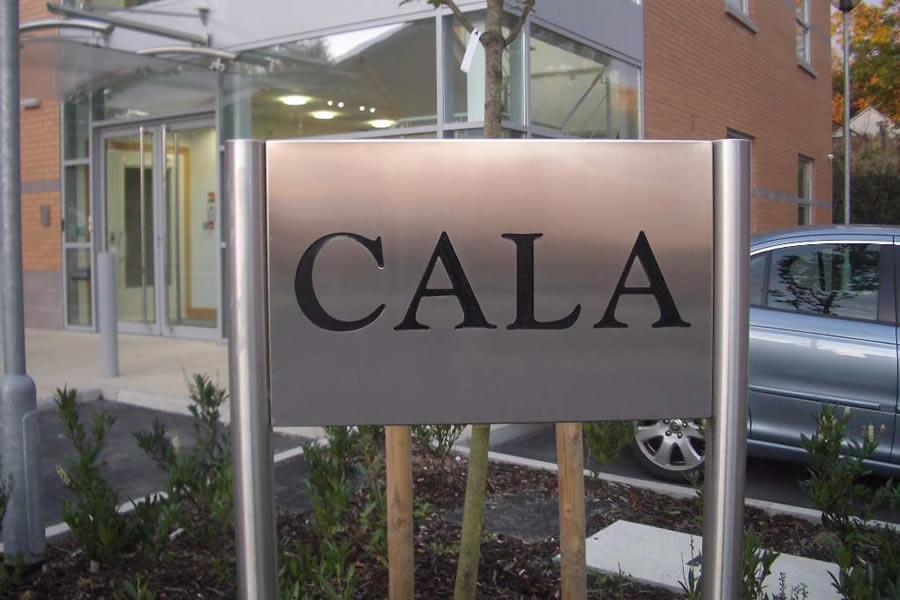 Commercial sign, Leeds, CALA Homes