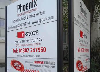 Commercial sign, Doncaster, Phoenix Property Development Thumb