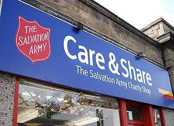 Shop Signage, Doncaster, Salvation Army Thumb