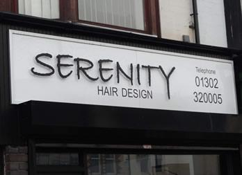Shop Signage, Doncaster, Serenity Thumb