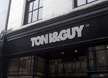 Shop Signage, Doncaster, Toni and Guy Thumb