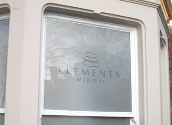 Discount Window Graphic, Doncaster, Elements Medispa Thumb