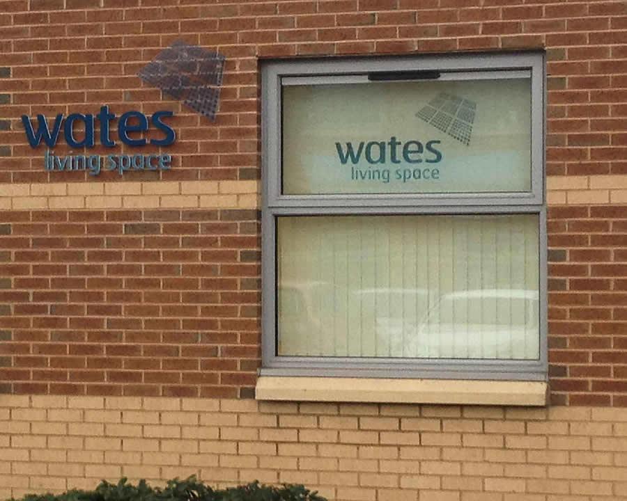 Discount Window Graphic, Wakefield, Wates Group