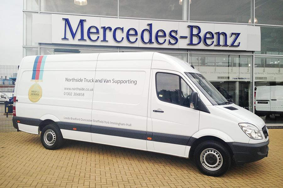 Vehicle Graphic, Doncaster, Northside Truck and Van Support
