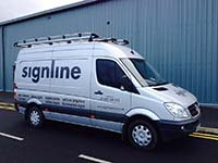Signline Vehicle Graphic