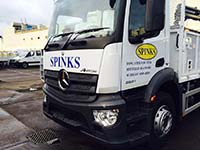 Spinks Vehicle Graphic