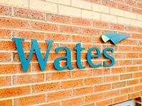 Wates 3D Signage